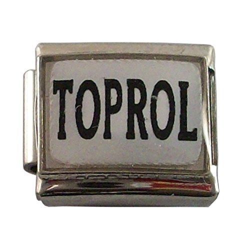 Taking Toprol Metoprolol Medical Id Alert Italian Charm For Bracelet