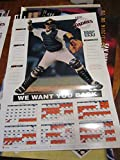 1995 San Diego Padres Schedule poster bx-sd