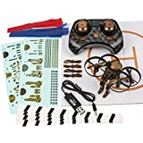 Rage RC 4503 Jetpack Commander Ready to Fly RC Quadcopter, Brown Camo