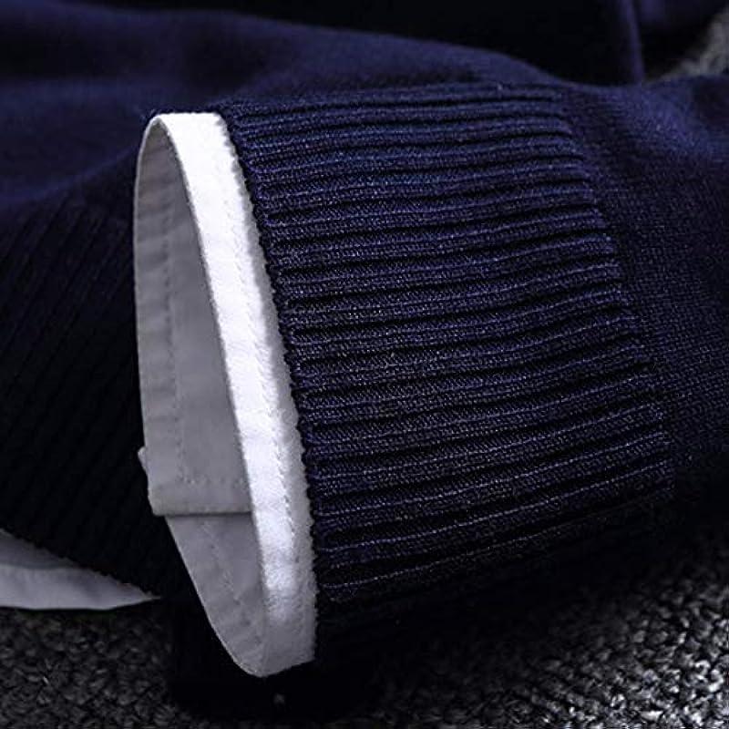 Winterdicke warme Pullover O-Neck Sweater Męskie Markenkleidung Strickpullover Męskie: Küche & Haushalt
