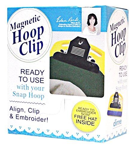 DIME MAGNETIC HOOP CLIP