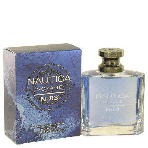 Nautica Voyage N-83 by Nautica - Eau De Toilette Spray 3.4