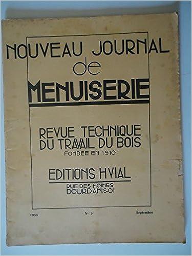 Téléchargement de livre de téléphone portable Nouveau Journal de Menuiserie n°9 Septembre 1953 PDF iBook PDB