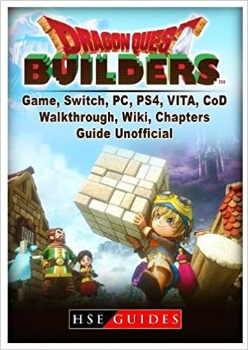 dragon quest builders game switch pc ps4 vita cod walkthrough wiki chapters guide unofficial hse guides 9781985725812 books amazon ca - effort collectif fortnite