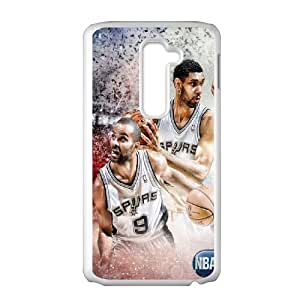 Tony Parker SANDY8102645 Phone Back Case Customized Art Print Design Hard Shell Protection LG G2