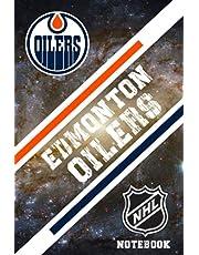 Edmonton Oilers : Edmonton Oilers Notebook Weekly Planner | NHL Notebook Fan Essential NFL , NBA , MLB , NHL , NCAA #17