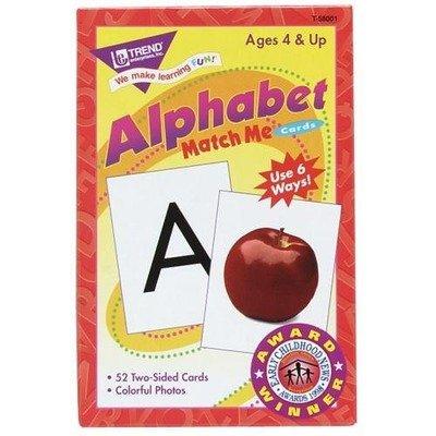TEPT58001 - Trend Alphabet Match Me Flash Cards