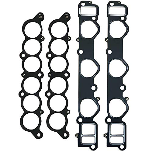 cciyu Intake Manifold Gasket Kit Replacement fit for 96-02 Toyota 4Runner 95-98 Toyota T100 95-04 Toyota Tacoma 00-04 Toyota Tundra