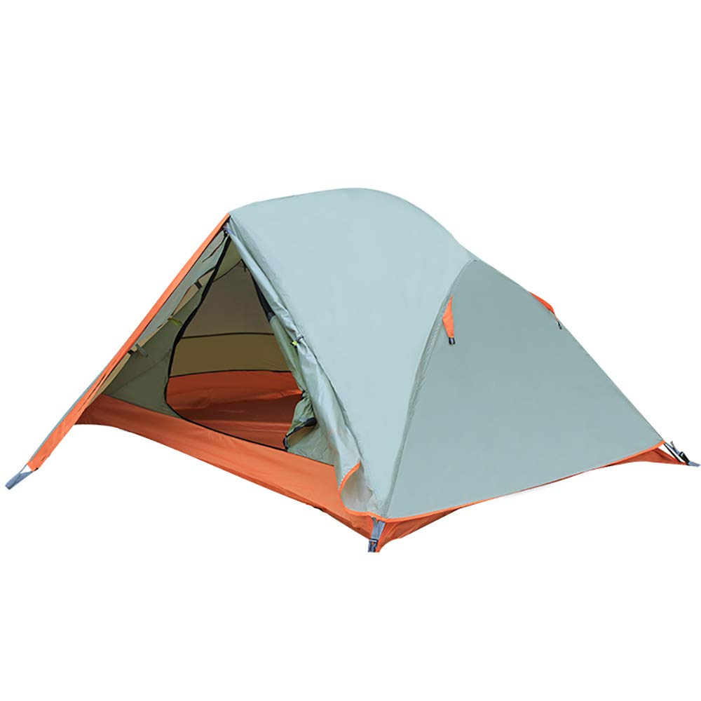 Tent Outdoor Double Aluminum Pole Tent Wild Wind and Rain Storm Waterproof Camping Camping Tent Suitable for 2 People use