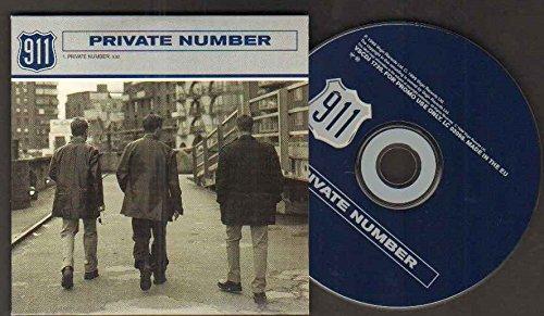 911 - 911 - Private Number - 1 Track Promo Cd - Cd - Zortam Music