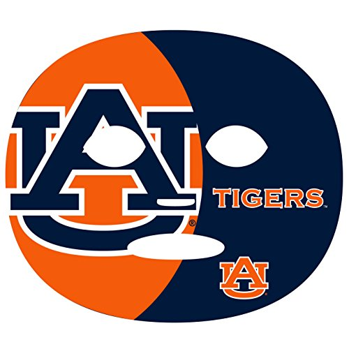 NCAA Auburn Tigers Game Day Face Tattoo (4 Set), One Size ()