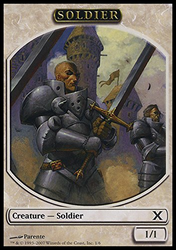 (Magic the Gathering: Soldier (10E Token) - 10th Edition)