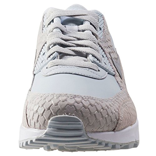 Nike Wmns Air Max 90 Sneakers Lifestyle Premium Da Donna Platino Puro / Platino Puro Platino Puro / Platino Puro