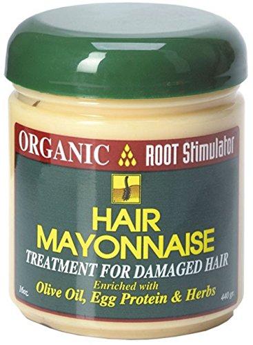 Namaste Organic Root Stimulator (Organic Root Stimulator Hair Mayonnaise Treatment, 16 oz (Pack of 4))