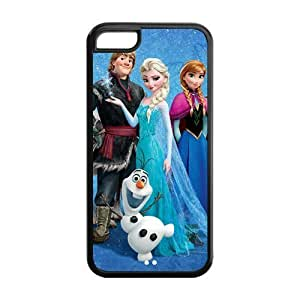 Frozen Solid Rubber Customized Cover Case for iPhone 4/4s 5c-linda577
