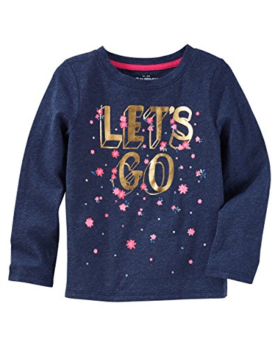 OshKosh B'Gosh Baby Girls' Long Sleeve Tee