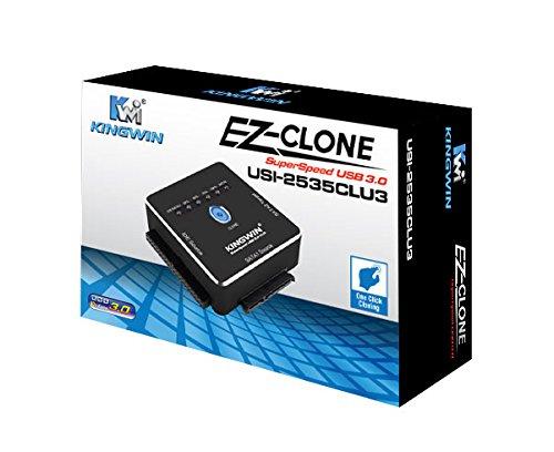 Kingwin USI-2535CLU3 USB 3.0 IDE/SATA to SATA One Click C...