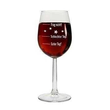 Weingläser Rot weinglas guter tag schlechter tag frag nicht rot