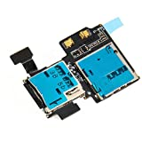Generic Sim Card And Memory Card Connector Flex Cable Replacement Part For Samsung Galaxy S4 i9500