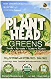 Genceutic Naturals Plant Head Greens Earth Mix, 10-Ounce