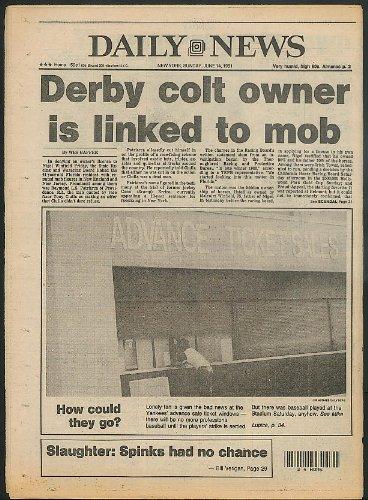 (DAILY NEWS Baseball Strike Dave Kingman Mod Derby Colt 6/14 1981)