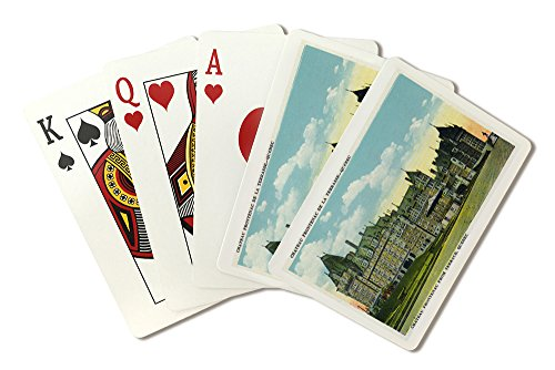Quebec, Canada - Chateau Frontenac Exterior View from Terrace (Playing Card Deck - 52 Card Poker Size with Jokers)