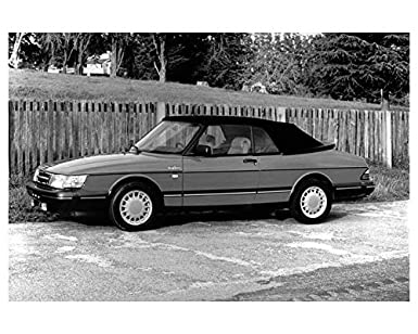 1991 Saab 900 Turbo Convertible Photo Poster