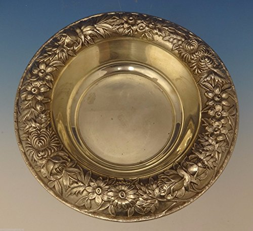 Repousse by Kirk Sterling Silver Fruit Bowl 9 1/2