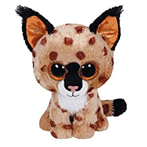 TY Beanie Boo Plush - Buckwheat the Lynx 15cm - 51iWY7d7nZL - TY Beanie Boo Plush – Buckwheat the Lynx 15cm