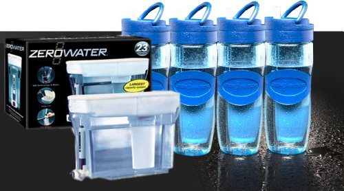 Zerowater Zd-018 and Zb-030 Parcel Pack (Family Pack)