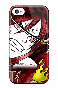 New ZippyDoritEduard Super Strong Fairy Tail Background Tpu Case Cover For Iphone 4/4s