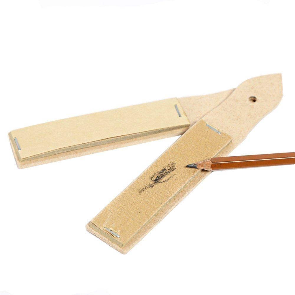 Nalmatoionme Pencil Sharpener Pointer Sandpaper Block for Painting Tool