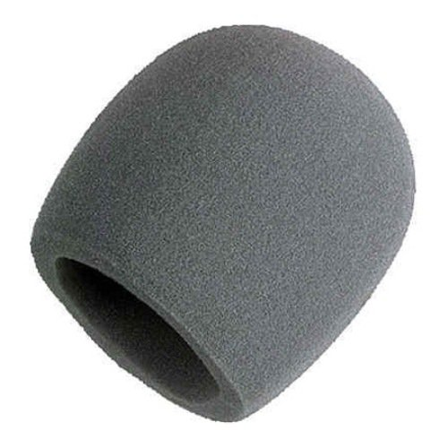 Shure A58WS-GRA Foam Windscreen for All Shure Ball Type Micr