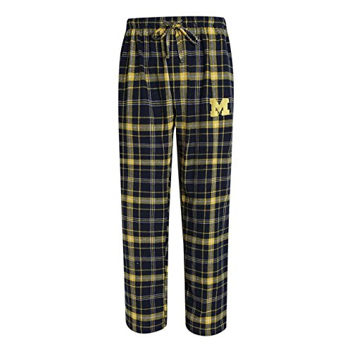 NCAA Michigan Wolverines Men's Ultimate Flannel Pants (Large) (Michigan Wolverine Pants)