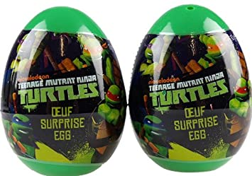 Teenage Mutant Ninja Turtles Surprise Gift Egg - Toy Sticker And ...