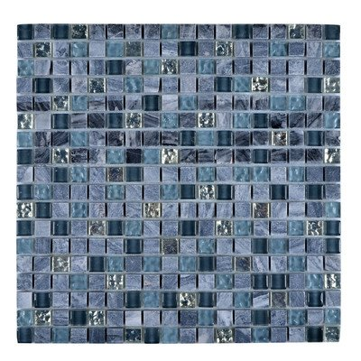 Granite Wall Tiles - Legion Furniture Modern Mosaic Mix Wall Tile with Stone-SF