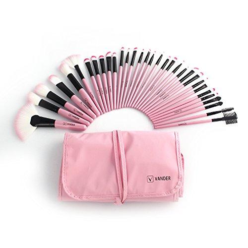 pink brush set - 3