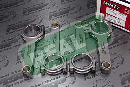 (Manley H Beam Rods Fits 240SX Altima S13 S14 S15 KA24DE 2.4L ARP2000 Rod)