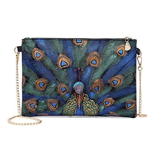 Mum Print (WILLTOO Handbag Bags Clearance Womens Animal Prints Leather Vintage Mini Crossbody Shoulder Bags (Multicolor))