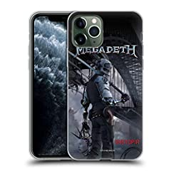 """Are you a fan of """"Heavy Metal"""", """"Thrash Metal"""" and """"Speed Metal"""" music or know someone that is? Choose from the widest selection of official Megadeth cases in the market and give yourself or someone that special perfect gift.       Ref..."""