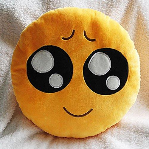 Hughapy® 35cm Emoji Smiley