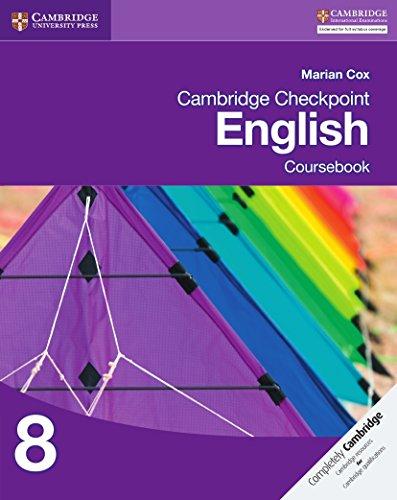 Cambridge Checkpoint English Coursebook 8 (Cambridge International Examinations)