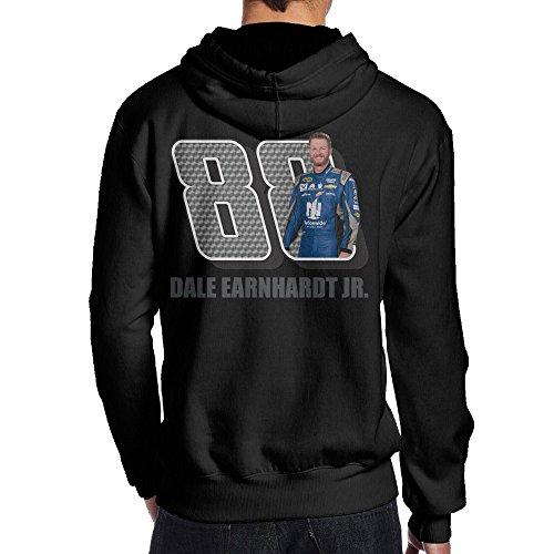 JBG Dale Earnhardt Jr. Hoodies For Men Black XXL