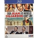 Jean Dujardin - Coffret - Les infidèles + Cash + Lucky Luke
