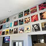 Vinyl Album Wall Mount Stand   Record Wall Mount   Set of 12