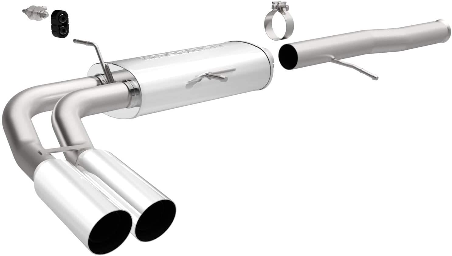 MagnaFlow 15564 Large Stainless Steel Performance Exhaust System Kit