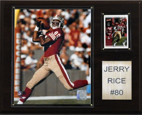 NFL Jerry Rice San Francisco 49ers Player Plaque - Jerry Rice Football Player