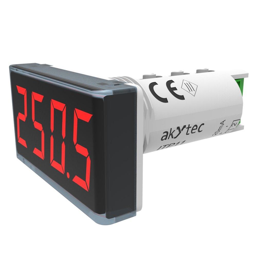 akYtec ITP11 Prozessanzeige 4-20 mA, Rot 67806