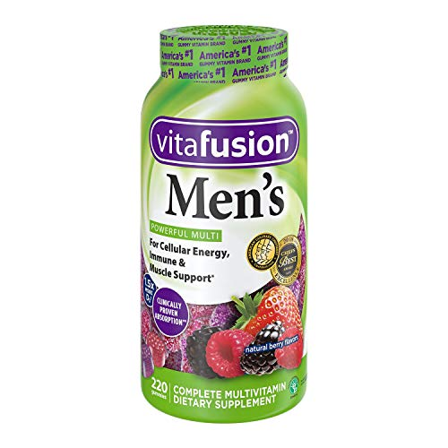 Vitafusion Men's Gummy Vitamins, (Packaging May Vary) 440 Count
