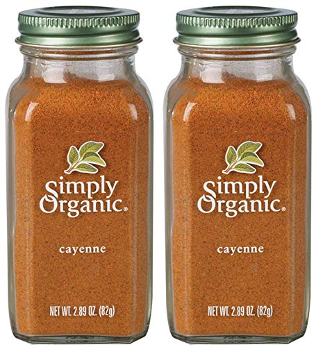 SJRXBWTS Cayenne Pepper Certified Organic, 2.89 oz Containers, 2 Pack by Simply Organic (Image #2)